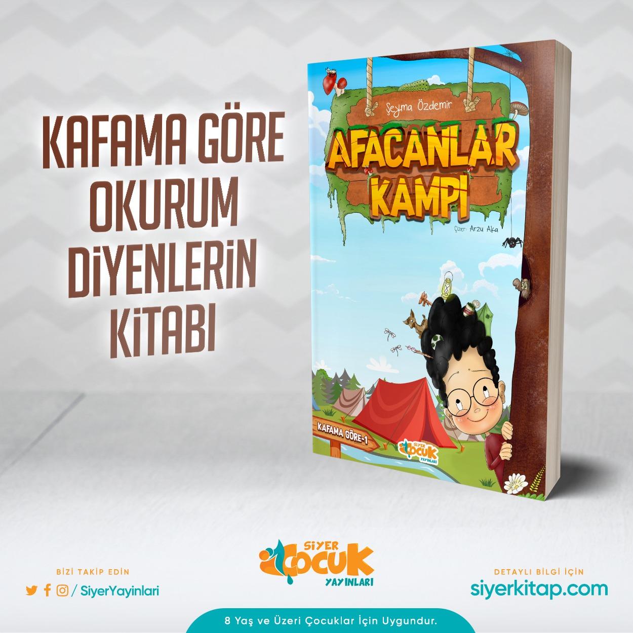 Afacanlar Kampı Kitabı - Siyer Çocuk Yayınları