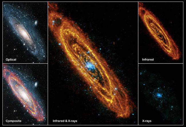 Andromeda'ya Bir de Böyle Bakın