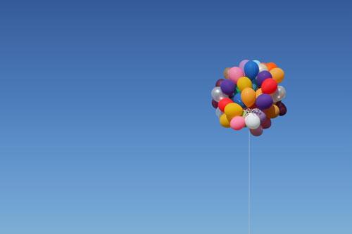 Çocuk Ve Balon