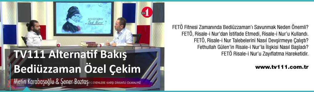 TV111 Alternatif Bakış Özel Çekimleri - Metin Karabaşoğlu