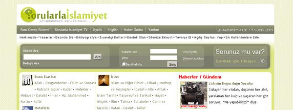 www.sorularlaislamiyet.com | cevaplanmadık soru kalmasın...