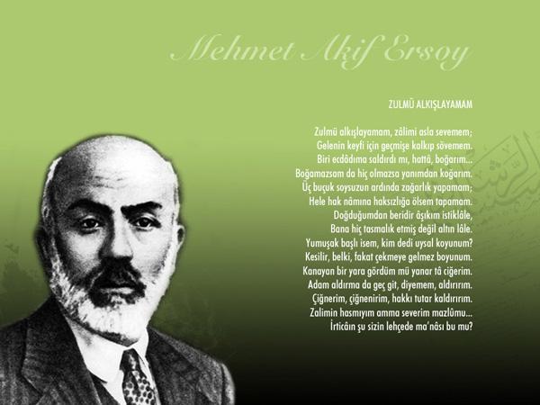 Mehmet Akif Ersoy Şiiri